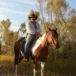 We offer horseback riding!