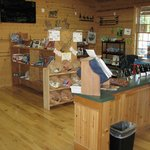 Customer Service Desk & RV Supply Store