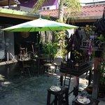 terrasse exterieur (resto/bar)