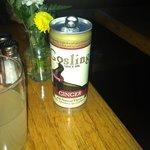 exquisita cerveza de gengibre.