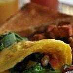 Garden Veggie Omelet