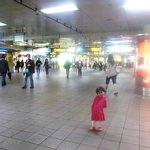 Underground hallway to Taipei Railway Station