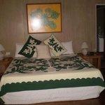 Lotus Bungalow King sized bed