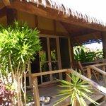 Lotus Bungalow Deck