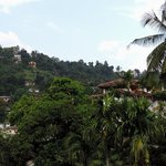 Looking at Kandy from the Royal Tourist Lodge Garden