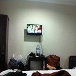 small tv but u not need it at bali at all