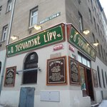 Pub U Slovanske lipy - great beer selection and traditional cuisine for low prices