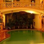 swiming pool on the nights