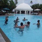 siatkówka w basenie