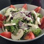 Bar Pradello insalata con funghi