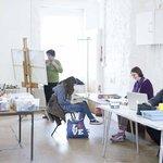 Art class in Studio One