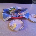 убогий завтрак