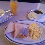 бедный завтрак без выбора