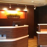 Newly Renovated Front Desk
