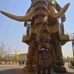 The Great Elephant at Les Machines de l'ile,