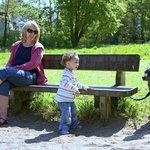 Children's play park on river walk
