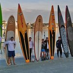 Paddle fun with friends