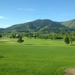Aussicht auf den Golfplatz