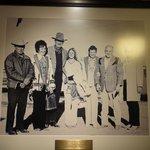 The Madonna's and John Wayne!