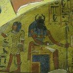 Im Grab von Irinefer in Der el-Medina