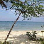 Beautiful beach at Mutiara