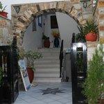 The entrance of Studios Stratos