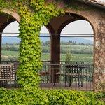 """Un particolare del terrazzo privato della Suite """"romantica"""""""