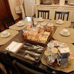 сервировка на завтрак
