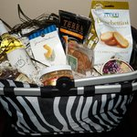 Add a gift basket with treats from Gull Hummock Gourmet Market.