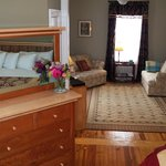 Boston Harbor Suite, Fig Street Inn, Cape Charles, VA.