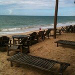 Praia do Araçaipe ( que está a pousada)