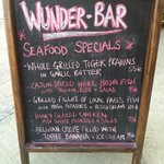 great daily specials at Wunder-Bar