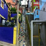 Colorful steps up to Valparaiso Experience