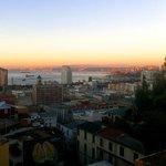 sunset view from deck at Valparaiso Experience