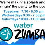 Water Zumba Class free to guests