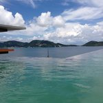 beautiful infinity pool with a view
