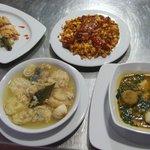 Platos restaurante