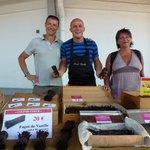 David Vanille au marché de la rotonde de St François