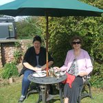 Cream Teas on The front Lawn