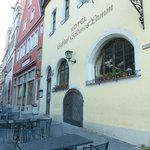 Front of Hotel Goldenes Lamm