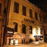 Talaka is a basement-based cafe