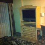 Bedroom TV & Desk