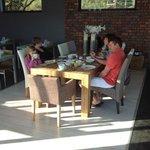 ontbijt-en loungeruimte