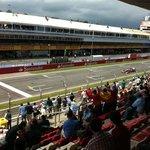 Palco en Circuit de Catalunya.