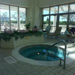 There were two hot tubs which was very nice!