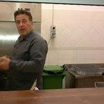 in cucina...