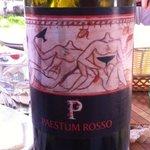 Una bella bottiglia di Paestum Rosso