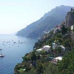 Amalfi coast - landscape view