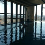Swimming pool with panoramic view