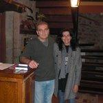 Jose el dueño del Caseron y yo